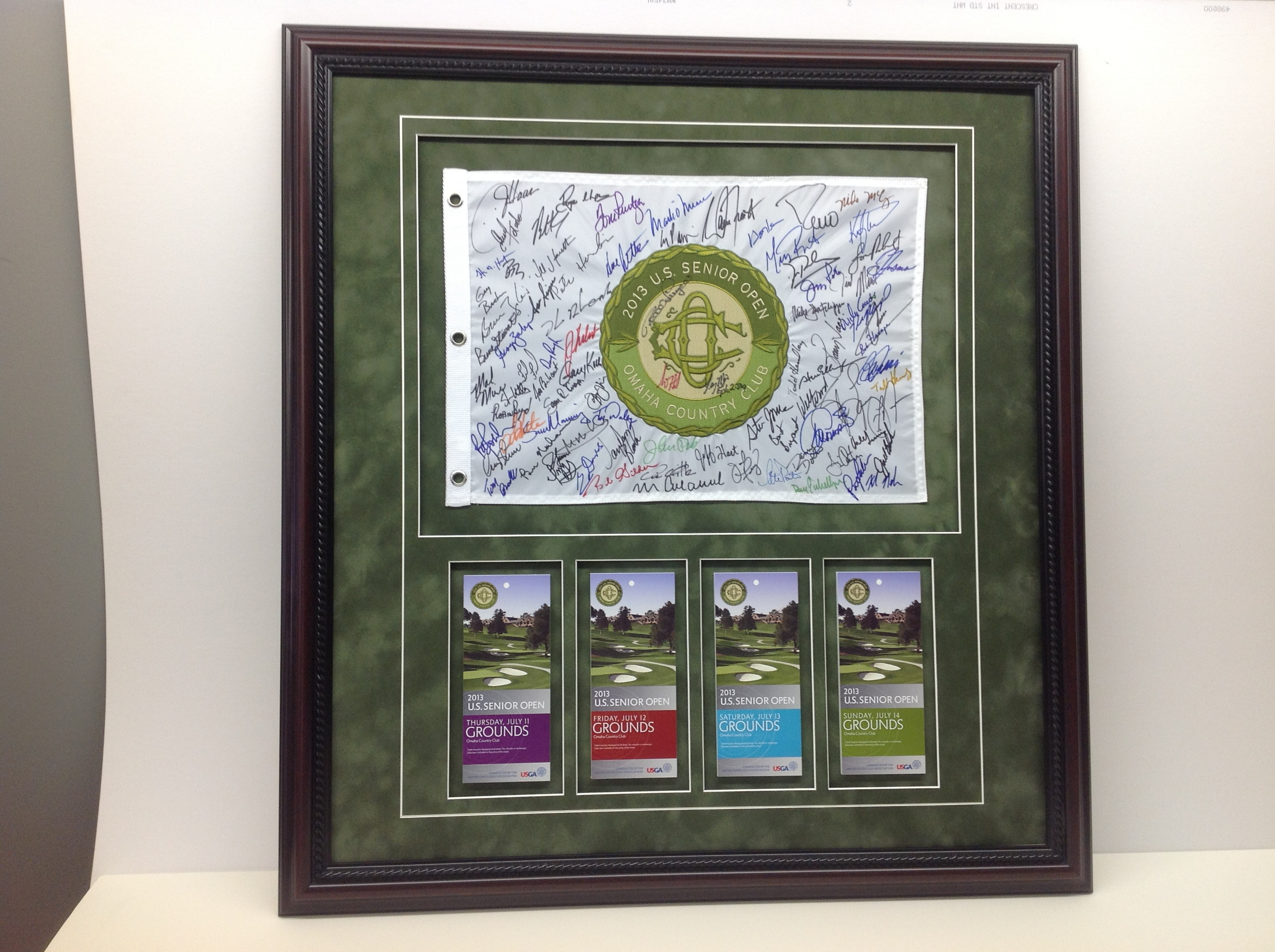 FRAME YOUR BASEBALL AND GOLF ITEMS!!