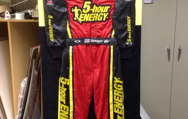 Full NASCAR Racing Uniform Framed