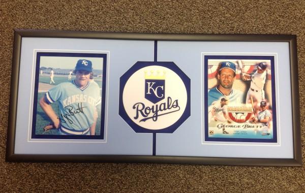 Kansas City Royals Photos with Custom Logo