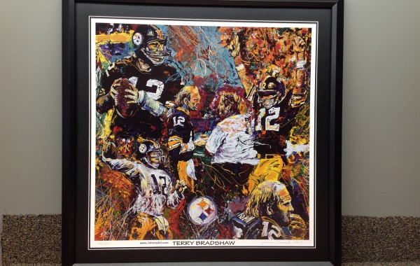 Pittsburgh Steelers Print Custom Framed