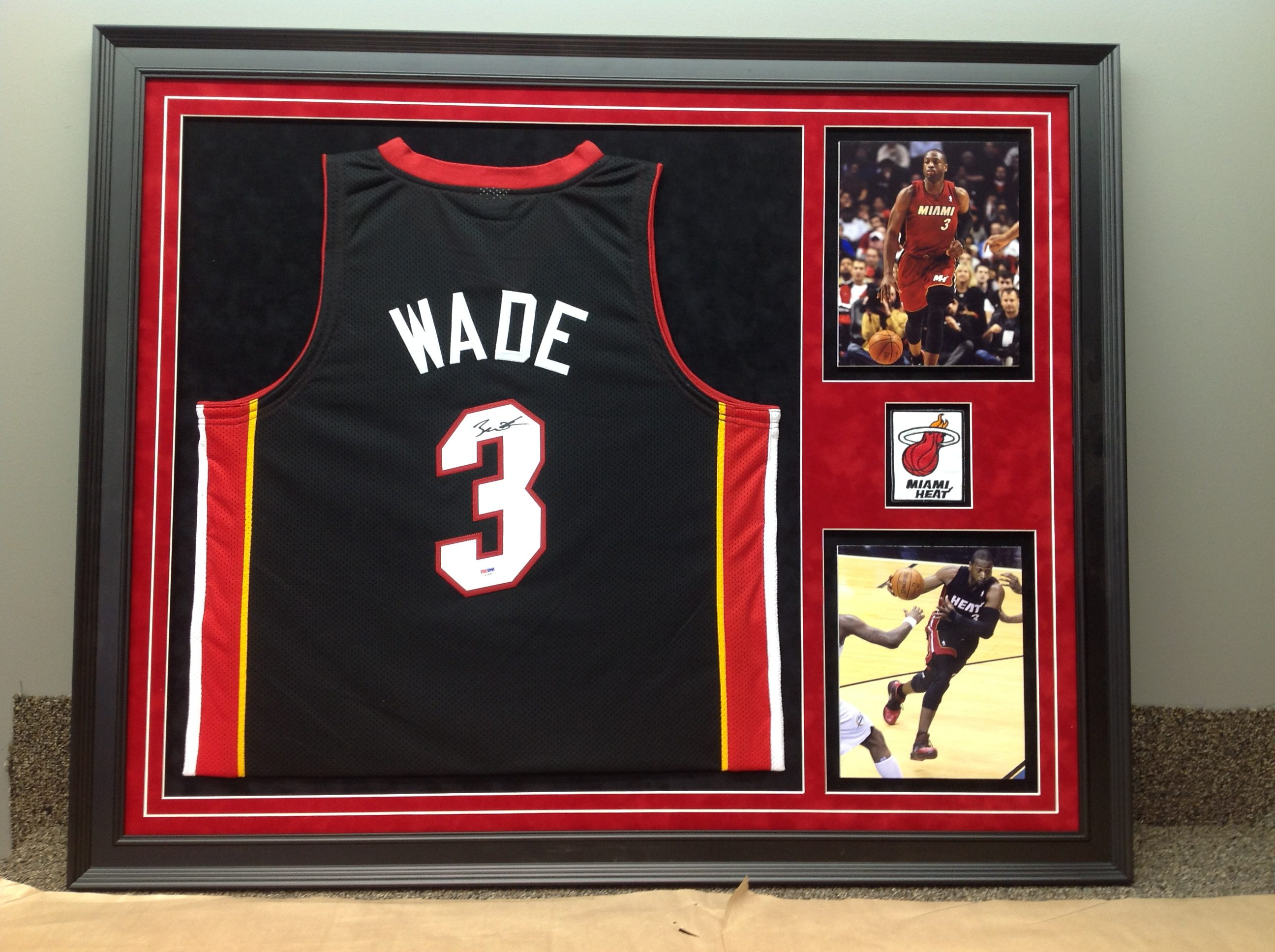 Jersey Custom Framing | B&C Custom Framing