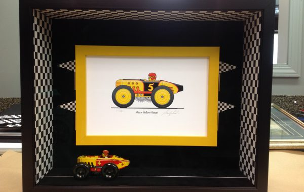 Indy 500 Shadow Box