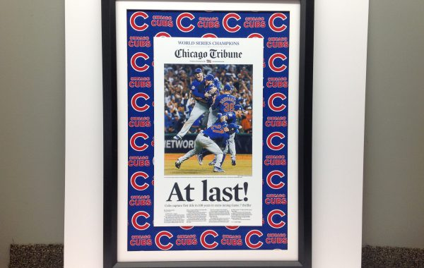 Chicago Cubs Newspaper