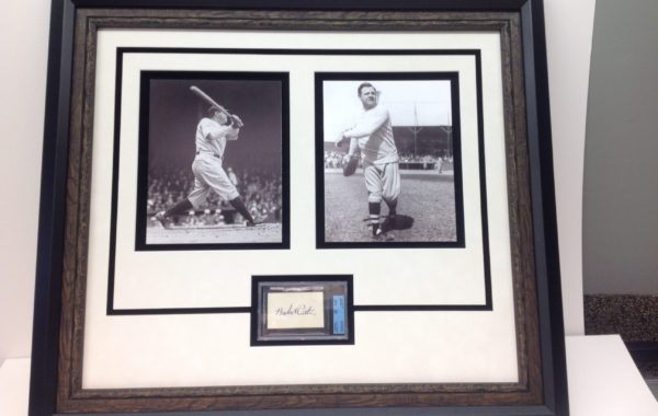 Babe Ruth Photos Framed