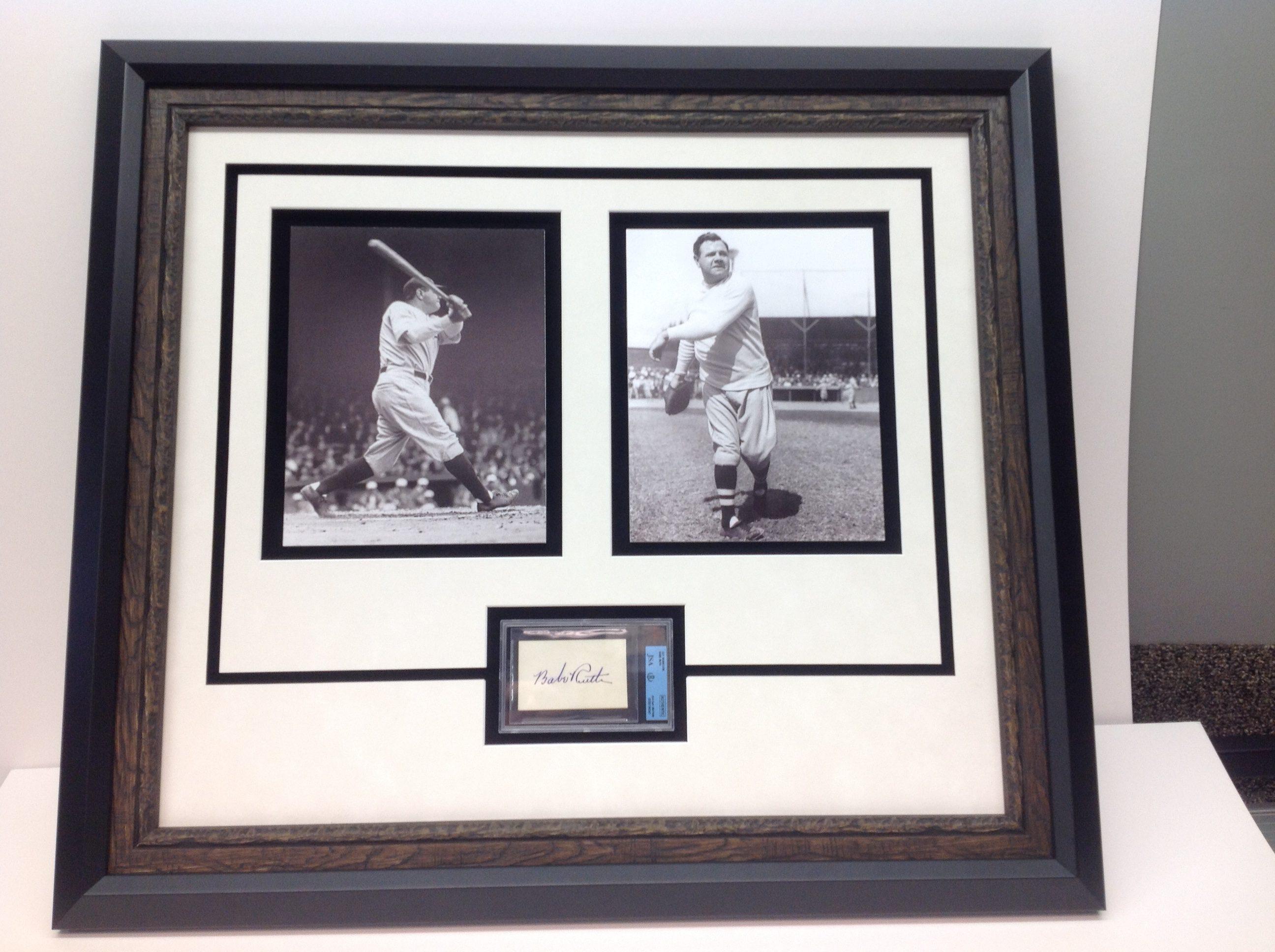 Babe Ruth Photos Framed