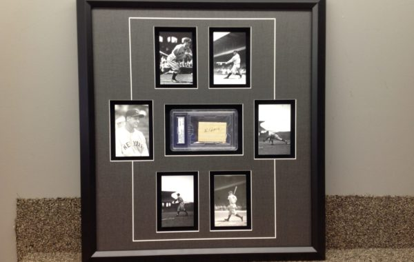 Baseball Photos with Signature
