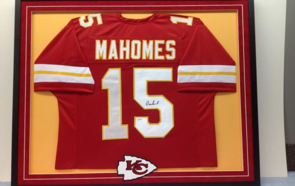 Mahomes KC Chiefs Jersey with Custom Logo