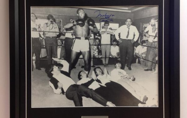 Muhammad Ali and the Beatles – Framed Photo