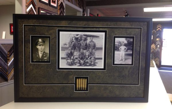 War Photos with Bullet Shells