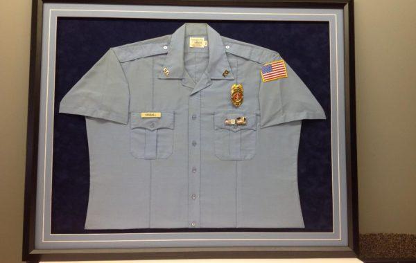 Retired Fire Department Uniform Shirt