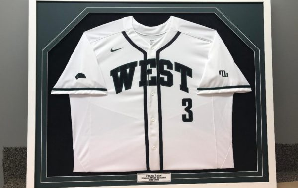 Baseball Jersey with Engraved Plate